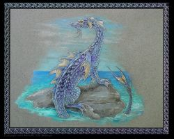 Water Dragon by Michelle-JA-McIntyre