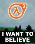 Half-Life 3 - I Want to Believe by Tadeu-Costa