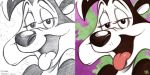 Daily Sketches Pepe Le Pew by fedde