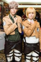 SnK: Jean and Armin by arienettee