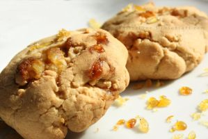 Walnut and Maple syrup Cookies by ElyneNoir