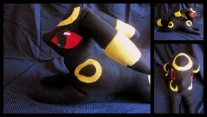 Umbreon Plush by mylifeline