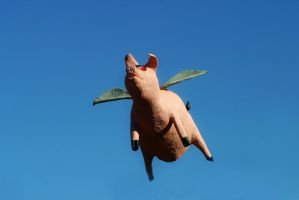 Flying Pig Stock by Vividlight