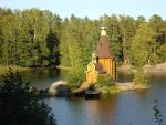 Church on the river by Le-ARi