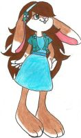 My bugs bunny character name Diliela by Ponyness1