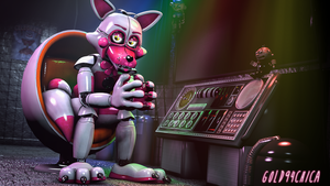 Are you ready to have a Funtime? (SL Foxy 4K SFM) by gold94chica