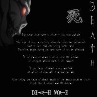 A Death Note Custom Background by SchizoDaJuggalo