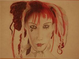 Emilie Autumn - study by LemonicDemon