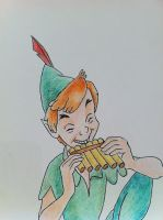 Peter Pan by iw0ntgiveuponyou