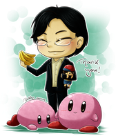 Satoru Iwata by Isi-Daddy