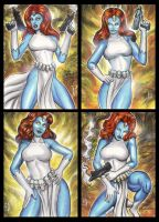 MYSTIQUE PERSONAL SKETCH CARD by AHochrein2010