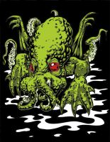 All Hail The Mighty Cthulhu by dsilvabarred