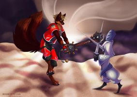 Kingdom Hearts Poster Detail - 4 by Silvixen