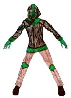 Modern Green Goblin design by Selinelle