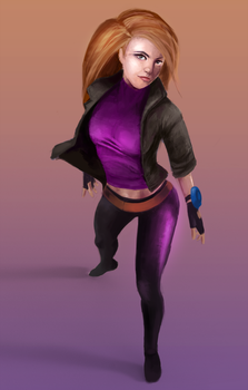 Kim Possible by Hawkmccloud