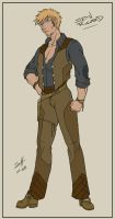 Character Design: Seth Rikard by ladyofdragons