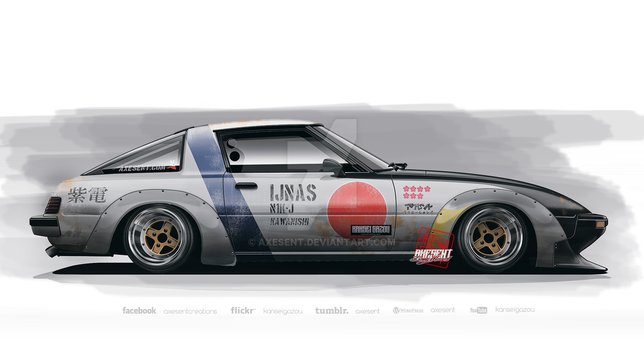 rx 7 Group C Ver 1 by Axesent