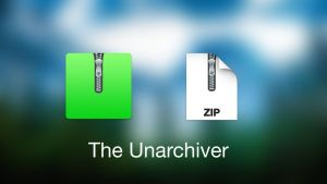 OS X Yosemite The Unarchiver by airdisk