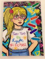ACEO Gift: Karen Two-Two XD by YuniNaoki