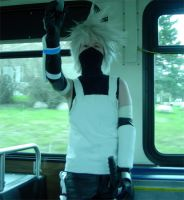 Sometimes Ninja Ride the Bus by Kale-Night