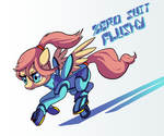 Zero Suit Flushy by DocWario