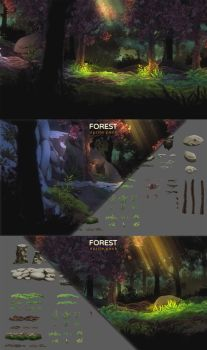 Forest Sprite Pack by SirTitus