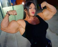 Helle Trevino Muscle Morph2 by Turbo99