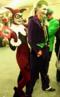 SFX-Fan Expo Cosplay 2009 10 (Harley + The Joker) by Neville6000