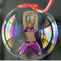 Bubbled Kelly Kelly by blunose2772