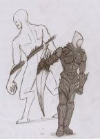 Prototype - Armor and Blade by Sil-Pencil