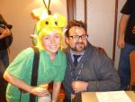 Me and Christopher Robin Miller -Voice of Layton by Linksliltri4ce