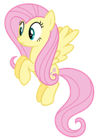Fluttershy - ''What?'' by thatguy1945