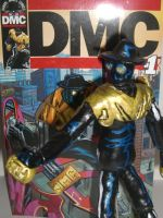 DMC figure WITH COMIC 03 by ztenzila