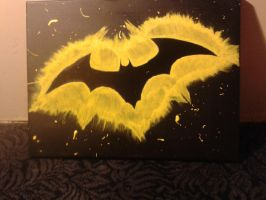 more on batman stencil by thecrass1