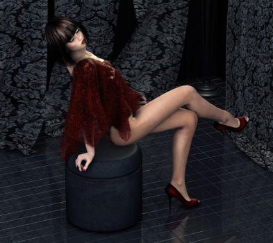 Seduction in Red by GrannyE