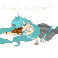 Happy new year ! by Fruit-sec