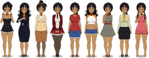 [REF] Dilini - outfits by HetaliaPalau