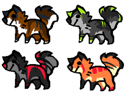 Adopts (4) [OPEN] by Chey-A-d-o-p-t-s