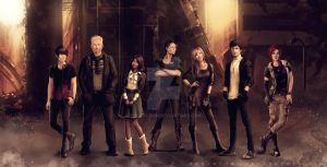 Discover - All Main Characters - Wallpaper by Emeraldus