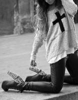 heels and crosses by GodsGirl33