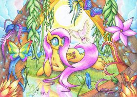 Flutterforest by Jacquibim