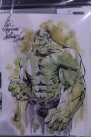 Hulk water color by JoeyLeeCabral