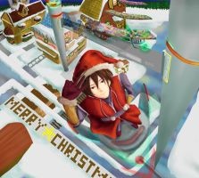 Santa Claus is Coming to Town by argentum-lunar