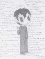 Supernatural - chibi Crowley+quotes by VampireFreakism