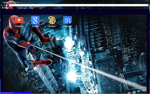 The Amazing Spiderman Theme by bandchromethemes