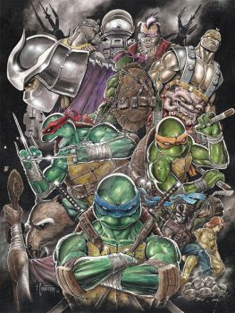 Teenage Mutant Ninja Turtles by emilcabaltierra