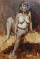 FIgure painting by Ivy-Maggie