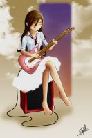 Pink Guitar Blues by Ichigoso