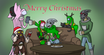 N7 Green Team Christmas 2015 by fakefrogs