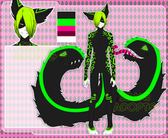 #1 Tailmouth boy AUCTION [OPEN] by Izanii-adopts